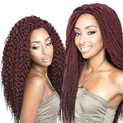 ISIS Synthetic Kanekalon Hair Crochet Braids A FriNaptural 3D Split Spanish Twist
