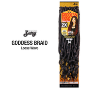 Royal Zury Synthetic Hair Crochet Braids Goddess Loc Loose Wave 14
