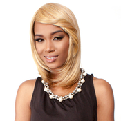 RAMP;B Collection 21Tress Human Hair Blend Half Wig BHMax