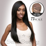 UpScale 100 Virgin Remi Human Hair Hand Made Full Lace Wig Natural Straight 20