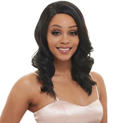 Janet Collection Synthetic Hair Lace Wig W Part Bellona