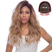 Harlem125 Synthetic Hair Lace Front Wig 4X4 Swiss Silk Base FLS11