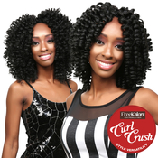 FreeKalon Synthetic Hair Crochet Braids Curl Crush Zuri Curl 20 Medium