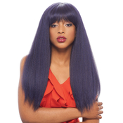 Janet Collection Human Hair Blend Wig Brazilian Scent Harper Wig