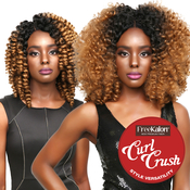 FreeKalon Synthetic Hair Crochet Braids Curl Crush Kinsey Curl 20 Large