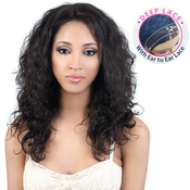 MotownTress Unprocessed Brazilian Virgin Remy Human Hair Lace Front Wig HBRLFaye