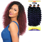 Sensationnel Synthetic Hair Crochet Braids African Collection 3X Pre Looped  Deep Twist 12