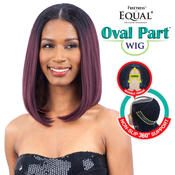 FreeTress Equal Synthetic Hair Wig Oval Part Wig Long Bob