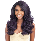 ModelModel Synthetic Hair Lace Front Wig Deep Invisible L Part Blue Meadow
