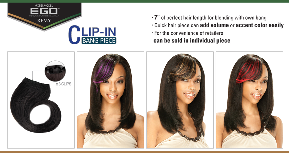 Extra Clips Have Been Attached To Secure The Extension Piece All That Is Left In This Application Process Comb And Style Blending Your Existing Hair