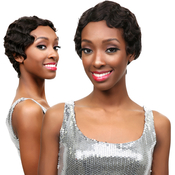 Janet Collection Unprocessed Brazilian Virgin Remy Human Hair Wig Natural Mommy