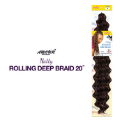 Amour Synthetic Hair Crochet Braids Natty Rolling Deep Braid 20