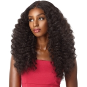 Sensationnel Synthetic Lace Front Wig Empress Edge Natural Center Part Amani