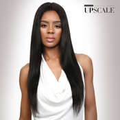 UpScale 100 Virgin Remi Human Hair Lace Front Wig Deep Part Lace Straight 26