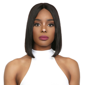 UpScale 100 Virgin Remi Human Hair Lace Front Wig Deep Part Lace Straight 10