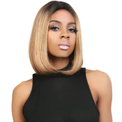 UpScale 100 Virgin Remi Human Hair Lace Wig Deep Part Lace Wig Straight 10 OT30