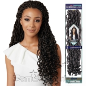 Bobbi Boss Synthetic Hair Crochet Braids African Roots Braid Collection Goddess Locs 18