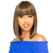 The Wig Natural Human Hair Blend Wig HHCOCO