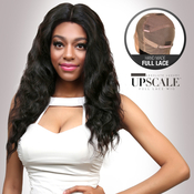 UpScale 100 Virgin Remi Human Hair Hand Made Full Lace Wig Loose Wave 20