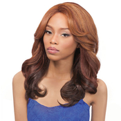 Outre Synthetic Lace Front Wig L Part  Perm Yaki 18