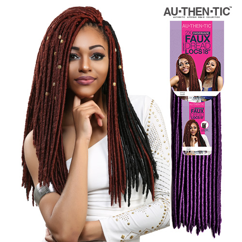 Crochet Hair Faux Locs : ... Hair Crochet Braids 2X Faux Dread Locs 18 (Faux Locs) - SamsBeauty