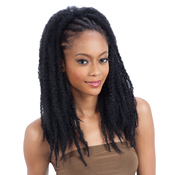 Freetress Equal Synthetic Hair Drawstring Ponytail Jamaican Twist Girl