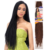 FreeTress Synthetic Hair Crochet Braids Long Small Box Braid 24