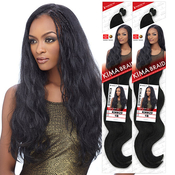 Harlem125 Synthetic Hair Crochet Braids Kima Braid Magic Body 20