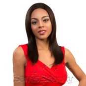 Queen Hair Unprocessed Brazilian Virgin Remy Human Hair Half Wig Straight 18
