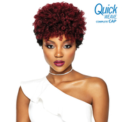 Outre Synthetic Hair Full Cap Quick Weave Complete Cap Curlette Small