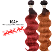 Unprocessed 100 Human Hair Weave Natural Hair 10A Body wave