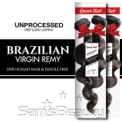 Queen Hair Unprocessed Brazilian Virgin Remy Human Hair Weave Ocean Wave