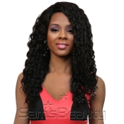 Queen Hair Unprocessed Brazilian Virgin Remy Human Hair Full Lace Front Wig L Part Spanish 24