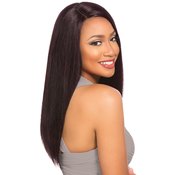 Sensationnel Remy Human Hair Lace Front Wig Select Yaki 20