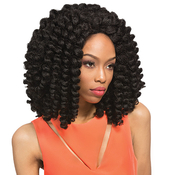 Outre Synthetic Braid Lace Front Wig Xpression Cuevana Twist Out Bob