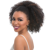Sensationnel Synthetic Hair DrawString Ponytail Instant Pony Natural Afro 18