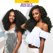 Amour Synthetic Hair Crochet Braids Natty Bouncy Twist Braid 12