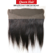 Queen Hair Unprocessed Brazilian Virgin Remy Human Hair Weave 13X4 Full Lace Cover Ear To Ear Body Straight