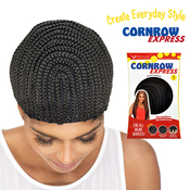 Vivica Fox Cornrow Express Horseshoe Regular Cap