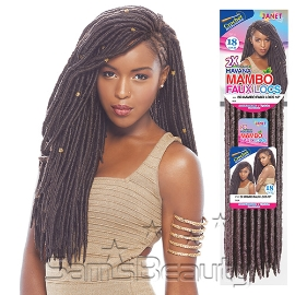 Janet Collection Synthetic Hair Crochet Braids 2X Havana Mambo Faux ...