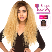 New Born Free Synthetic Hair Lace Front Wig 4X4 XL Magic Lace UShape Lace Wig MLU17