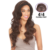 New Born Free Synthetic Hair Lace Front Wig 4X4 Any Part Magic Lace MLA67