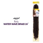 Amour Synthetic Hair Crochet Braids Natty Water Wave Braid 24