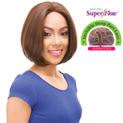 Janet Collection Synthetic Hair Lace Front Wig Natural Super Flow Invisible Deep Part Lace Amy