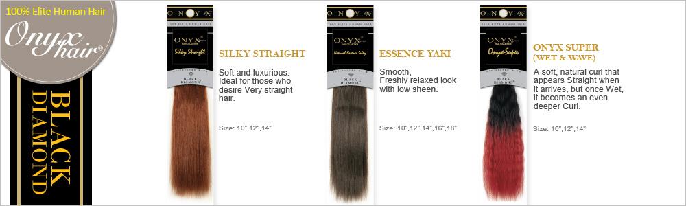 Black diamond human hair weave onyx silky straight samsbeauty can be styled using heating tools pmusecretfo Choice Image