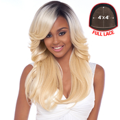 Harlem125 Synthetic Hair Lace Front Wig 4X4 Swiss Silk Base FLS03