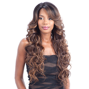 Model Model Synthetic Lace Front Wig Deep Invisible Part Ria