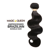 Magic Queen Unprocessed 100 Virgin Human Hair Brazilian Bundle Hair Weave 7A Nautral Body Wave