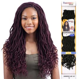 FreeTress Synthetic Hair Crochet Braids Goddess Loc 18 ...