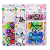 Ball Ponytail Holders Mix
